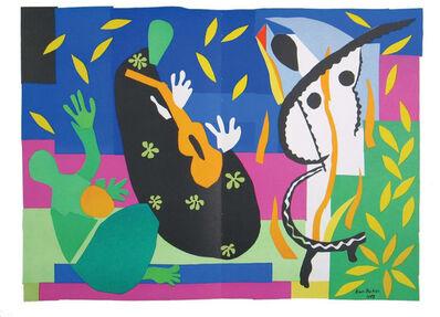 Henri Matisse, 'Tristesse du Roi', 1954