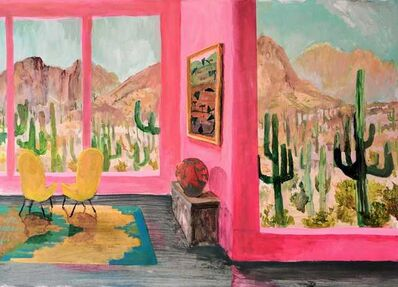 Johnny Defeo, 'Mid Century Pop, Saguaro N.P', 2019