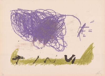 Antoni Tàpies, 'Clau del Foc XVI', 1970-1980