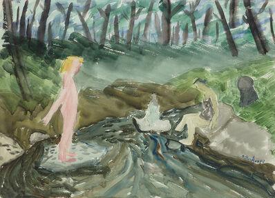 Milton Avery, 'Brook Bathers', 1939