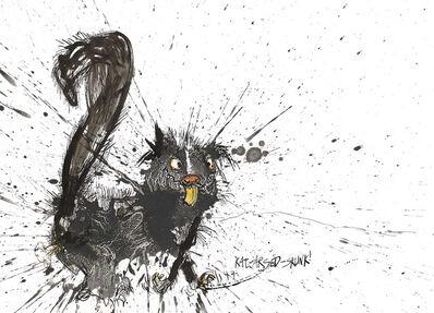Ralph Steadman, 'Rat-Arsed Skunk', 2017