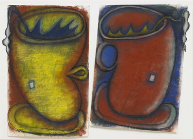 Elizabeth Murray, 'Double', 1995