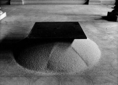 Roman Signer, 'Eisenplatte', 1982