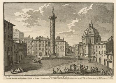 Giuseppe Vasi, 'Piazza di Colonna Trajana', 1747