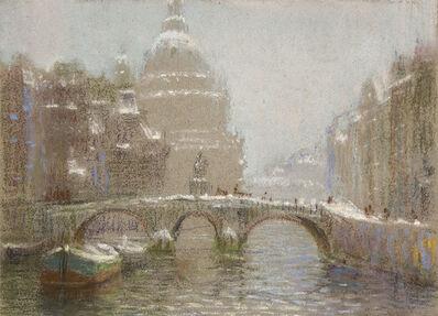 William Partridge Burpee, 'CANAL BRIDGE'