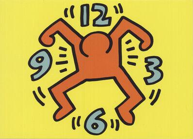 Keith Haring, 'Clock Man', 1991