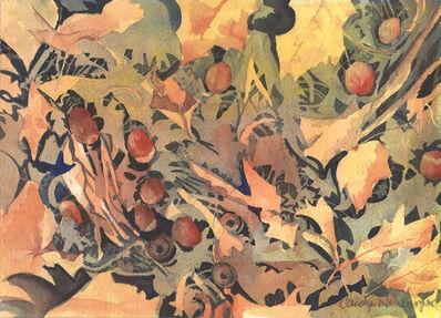 Carolyn Newberger, 'Acorns on the Forest Floor', 2020