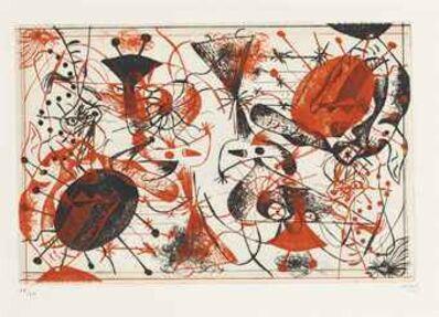 Joan Miró, 'Serie Noire et Rouge', 1938
