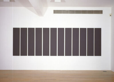 Alan Charlton, 'Painting in Twelve Vertical Parts', 2006