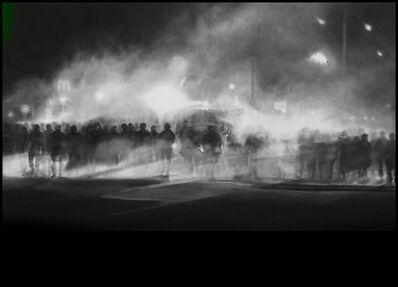 Robert Longo, 'Untitled (Ferguson) Diptych', 2014