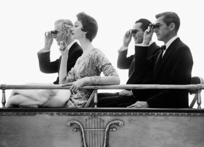 William Helburn, 'Dovima Opera Box', 1953