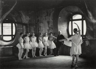 Alfred Eisenstaedt, 'Swan Lake Rehearsal, Opera de Paris', 1930