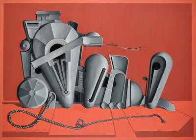 Valton Tyler, 'Brith at Red', 1975