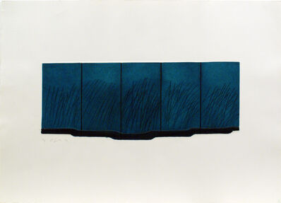 Richard Smith, 'Green Etching (Untitled)', 1970
