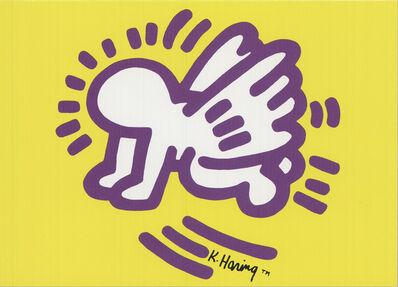 Keith Haring, 'Baby Angel', 1991