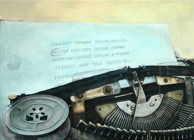 Vani Hidayatur Rahman, ' Catatan Biru (Typewriter Series)', 2008