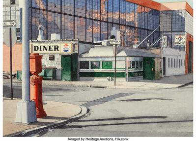 John Baeder, 'Epicure Diner, Long Island City, NY', 1976