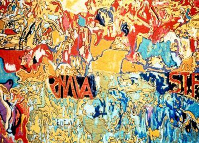 Pacita Abad, 'Walls of Santa Mesa', 1985