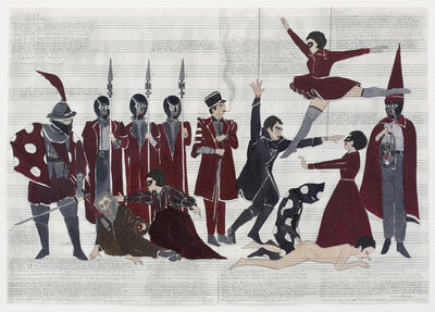 Marcel Dzama, 'No Hand Shadow or Gestures', 2011