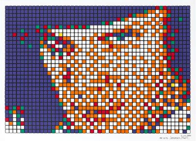 Invader, 'Rubik Kubrick A Clockwork Orange', 2006