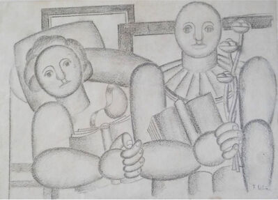 Fernand Léger, 'La Lecture', 1924