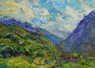 Ulrich Gleiter, 'Mountain Landscape', 2017