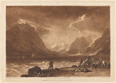 J. M. W. Turner, 'Lake of Thun', published 1808