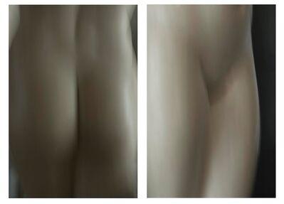 Luca Artioli, 'Roman Statue Study- Front and Back', 2016