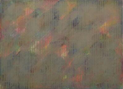 Lothar Quinte, 'Dripping ocker', 1981