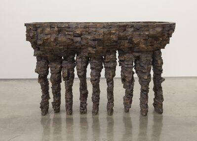 Ursula Von Rydingsvard, 'Nine Finger Bowl', 1993