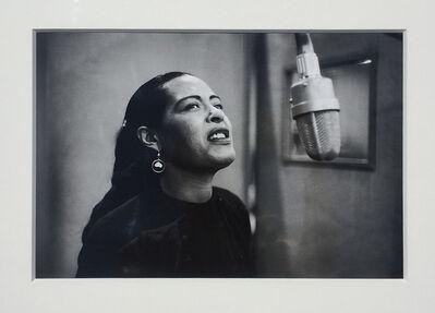 Don Hunstein, 'Billie Holiday, New York City', 1957