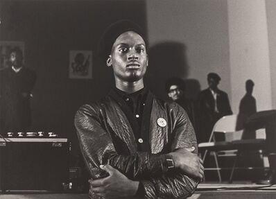 Pirkle Jones, 'Black Panther guard, Marin City', 1968