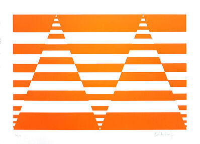 Victor Debach, 'Orange Composition', 1970s