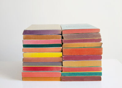 Mary Ellen Bartley, 'Reading Color #29 from the series Reading in Color', 2021