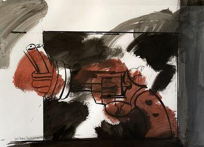 Carl Frederik Reuterswärd, 'untitled (Non-Violence, Knotted-Gun)', ca. 1985