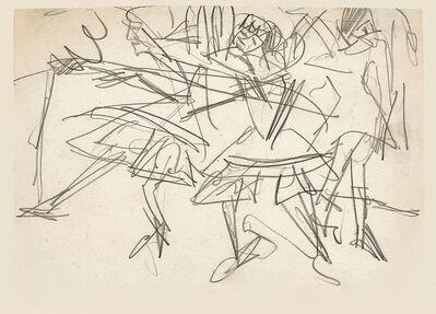 Ernst Ludwig Kirchner, 'Tanzende (Dancers)', ca. 1912