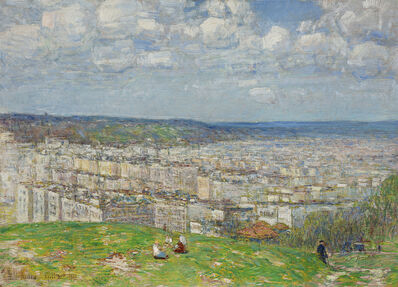 Childe Hassam, 'Top of Fort George', 1920