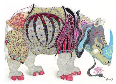 Marian Fannon Christian, 'Rhonda The Rhino - Print', 2006
