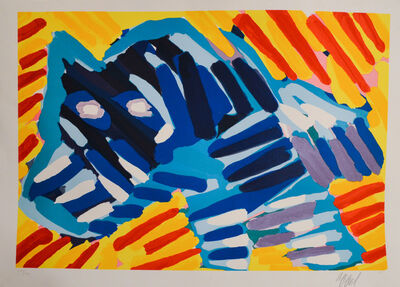 Karel Appel, 'Series of 10-Running Dog', 1978