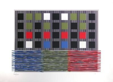 Jesús Rafael Soto, 'Composition for the Olympic games', 1992