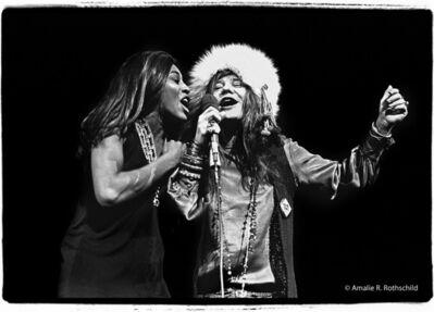 Amalie R. Rothschild, Jr., 'Janis and Tina at Madison Square Garden, November 27, 1969', 1969
