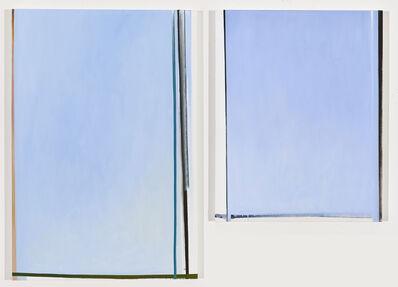 Juan Iribarren, 'Blue Diptych', 2017