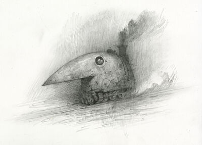 Shaun Tan, 'Crow Train', 2017