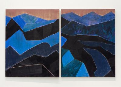Kristine Moran, 'Winter Desert I & II', 2020