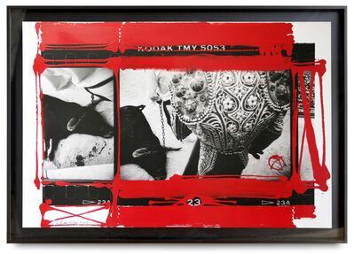 William Klein, 'Dead Bull, Feria de Nimes', 1986