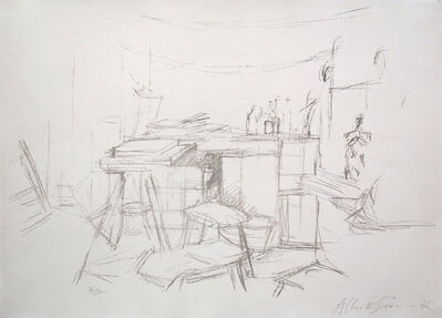 Alberto Giacometti, 'The Studio with Bottles / L'Atelier aux Bouteilles', 1957