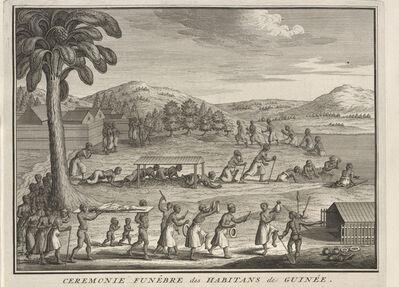 Bernard Picart, 'Funeral Rites of the Inhabitants of Guinea', 1723-1743