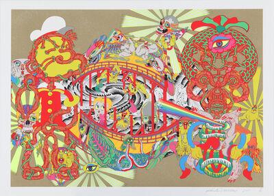 Keiichi Tanaami, 'Lost and Wandering Bridge Series_5', 2011