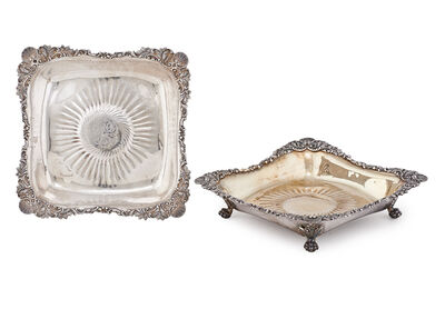 Tiffany & Company, 'Tiffany & Co. Sterling Silver Tazzas', 1873-1902
