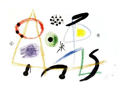 Joan Miró, 'From Maravillas con Variaciones Acrosticas en el Jardin de Miro', 1975